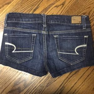 American Eagle jean shorts!(: